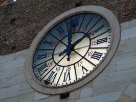 Old Clock by eugeal-stock