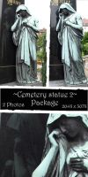 Cemetery statue package 2 by almudena-stock