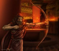 The Revenge of Odysseus by Panaiotis