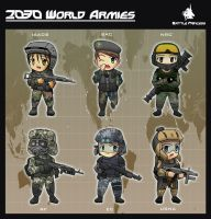 2030 World Armies by vjptox