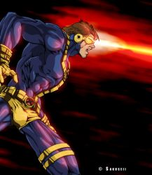 Cyclops colored by Sakuseii