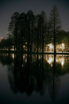 IOR Lakeside Nightscape 1. by w33do