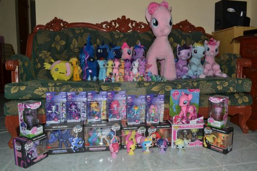 Pony Collection 2016 by darkman0117