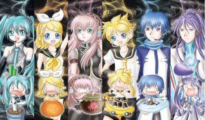 vocaloid bookmark by ruby99173