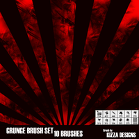 Grunge Brush Set by KizzaDesigns