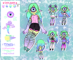 [Reference sheet] - Illana by hello-planet-chan