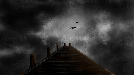 Pier into the Sky by Swiftsunset01