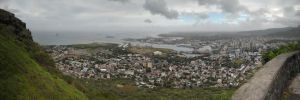 Port Louis Harbour Panorama by carrotmadman6