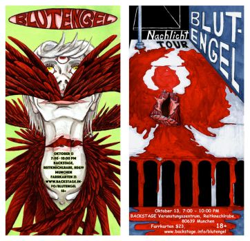 BlutEngel Poster set by sitres