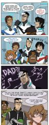 Voltron: Space Dad by carrinth