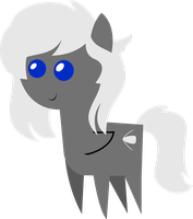 [C] Pointy Pony - Silver Bullet by SketchMCreations