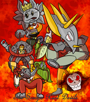 The Scraps Rust Devils by Nyanbonecrush