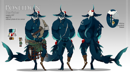 Poseidon Ref by Milay