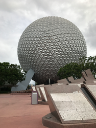 Epcot Spaceship Earth IMG 2566 by TheStockWarehouse
