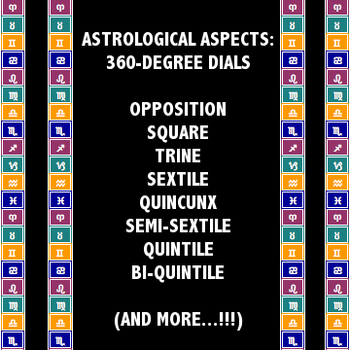 Astrological Aspects 360-Degree Dials by xXmariisa23Xx