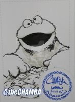 FCBD2016 - Cookie Monster by theCHAMBA