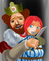 Fast Food Hostage Incident by damntwistedperson