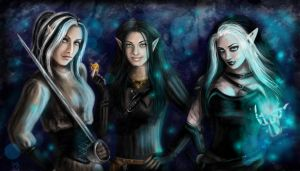 NWN girls by Irrisor-Immortalis