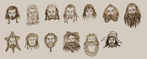 Thorin and Company by Demon-Marimo