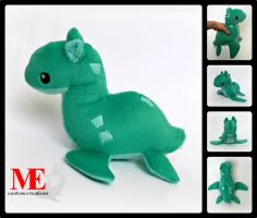 Nessie the Loch Ness Monster Plush Beanie by MayEsdot