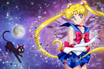 Sailor Moon (Crystal BR cover style)