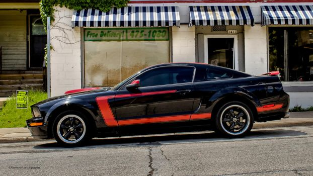 Ford Mustang-Black and Red by rimete
