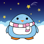 Chubby Penguin Makes a Wish