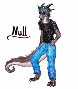 Null--Commission by SpiderMilkshake