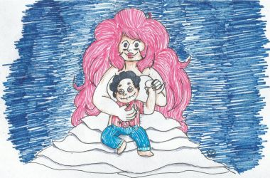 Voodoo Witch Rose and Voodoo Doll Steven by SkitsyCat-TheTart