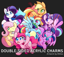 Mane 7 Charms by DShou