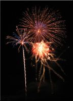Canfield Fairgrounds Fireworks by WDWParksGal