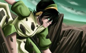 Toph - Rocking the Ground by Dicenete