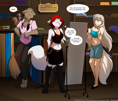 Scarlet Shopping Day by Twokinds