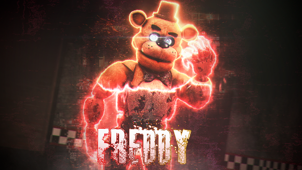 [SFM FNAF] Freddy Fazbear WALLPAPER! by SkyProductions12
