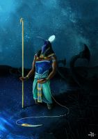 Thoth by Amaryan