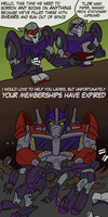 Nemesis Prime, the new Librarian by RazzieMbessai