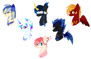 .: Headshot adopts : 1/6 OPEN :. by p-riince