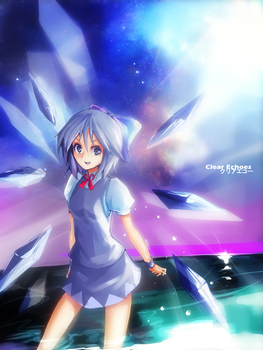 Touhou : Cirno by ClearEchoes