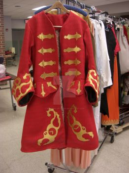 Captain Hook Red Coat by PeriwinklePaisley
