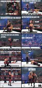 When Kane tries to wake up Jericho for school by Idera