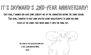 Skyward 2-Year Anniversary!! by GECKO-Nuzlockes