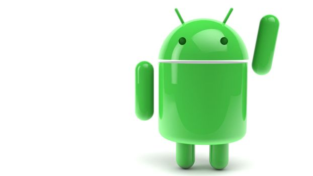 Waving Android background by The3DLeopard