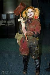 Post Apocalyptic Harley Quinn Cosplay by DiaryofADoll