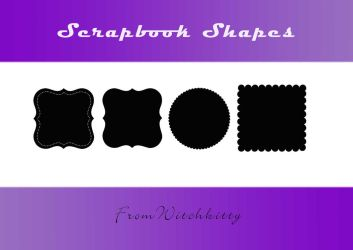 Scrapbooking shapes -fancy by Willowkins