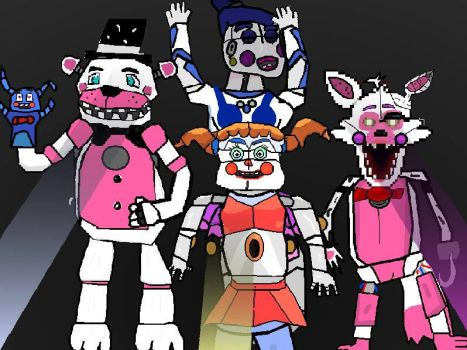 Five Nights At Freddy's Sister Location by basilhs333