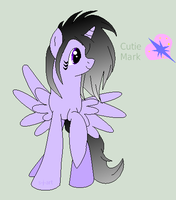 Lavender Heart MLP SOLD by MonkFishyAdopts