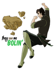 The See Me Bolin' [Legend of Korra] by Erin-Tudball