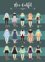 (CLOSED)  Casual Outfit Adopts 07 by Rosariy