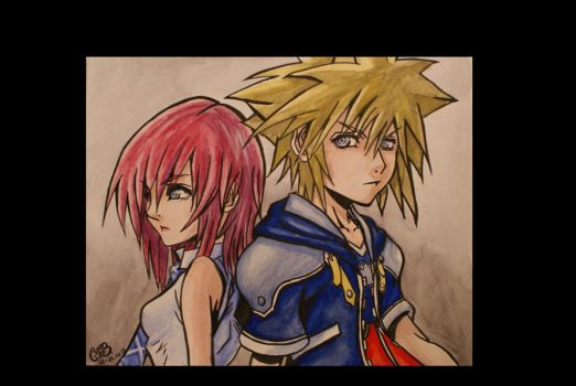 Kingdom Hearts by Luthien20