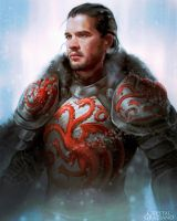 Jon the Targaryen by CrystalGrazianoArt